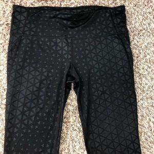 GAPFIT GFast Brushed Print Hexagon Shine Leggings